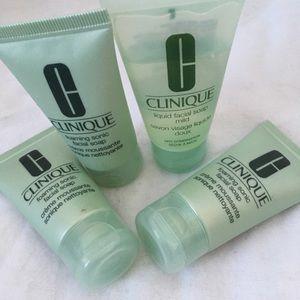 clinique face wash bundle